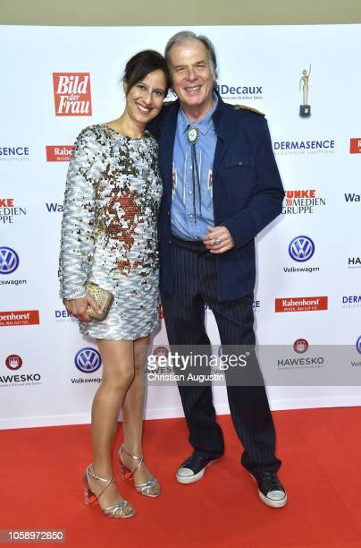 Wolfgang Fierek and Djamila Mendil attend the 'Goldene Bild der Frau' award at Stage Operettenhaus on November 7 2018 in Hamburg Germany