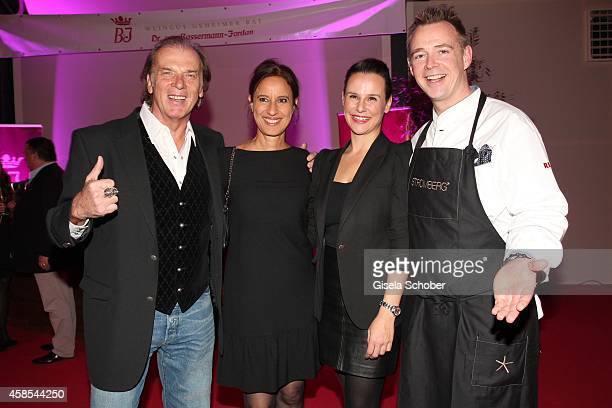 Wolfgang Fierek and his wife Djamila Holger Stromberg and his wife Nikita attend the Cotton Club Dinnershow Premiere at Ungerer Bad on November 6...