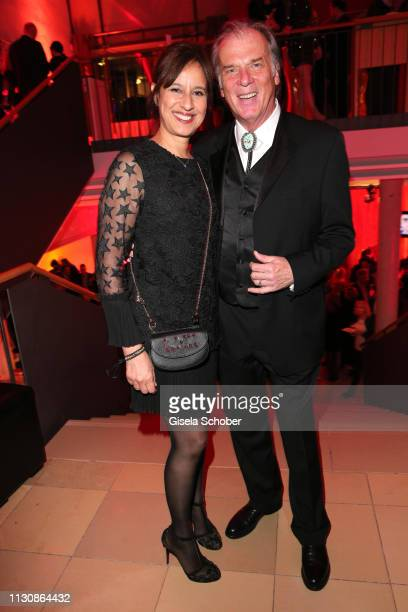 Wolfgang Fierek and his wife Djamila Mendil during the 3rd Carl Laemmle Producer Award at Kulturhaus Laupheim on March 15 2019 in Laupheim Germany