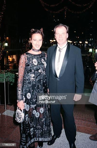 Wolfgang Fierek mit Ehefrau DjamilaMendil TelestarVerleihung Köln