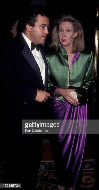 Wolfgang Flottl and Anne Eisenhower attend Seventh On Sale Fashion Benefit on October 29 1990 at the Paramount Hotel in New York City