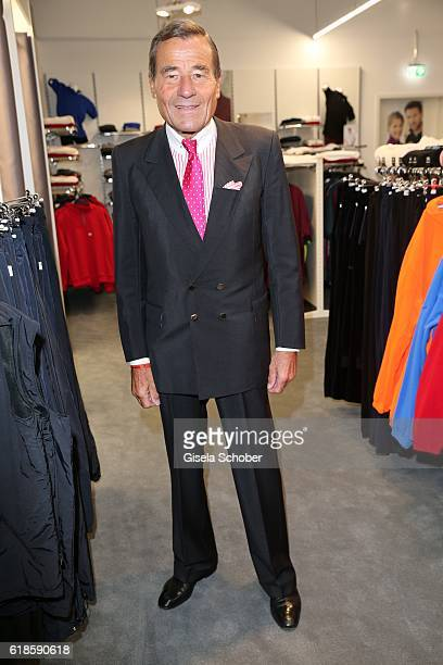 Wolfgang Grupp CEO Trigema during the opening of the City Outlet Geislingen on October 27 2016 in Geislingen Germany
