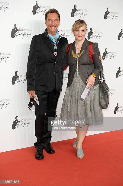Wolfgang Joop and Florentine Joop attend the Axel Springer 100th Anniversary at the Axel Springer Haus on May 2, 2012 in Berlin, Germany.