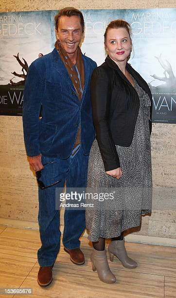 Wolfgang Joop and Florentine Joop attend the 'Die Wand' Berlin preview at Astor Lounge on October 8, 2012 in Berlin, Germany.