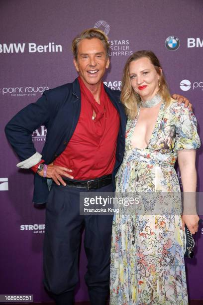 Wolfgang Joop and Florentine Joop attend the Duftstars Awards 2013 at the Tempodrom on May 17, 2013 in Berlin, Germany.