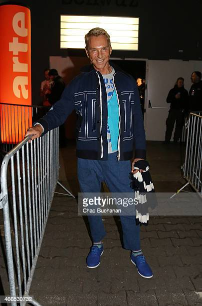 Wolfgang Joop sighted at SchwuZ Club on March 16 2015 in Berlin Germany