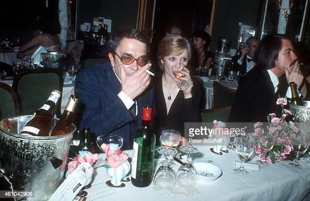 Wolfgang Kieling Tochter Susanne Uhlen Deutscher Filmball 1976 am in München Deutschland
