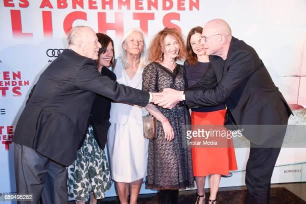 Wolfgang Kohlhaase Angela Winkler Hildegard Schmahl Yevgeniya Dodina Inka Friedrich and Matti Geschonneck attend the premiere 'In Zeiten des...