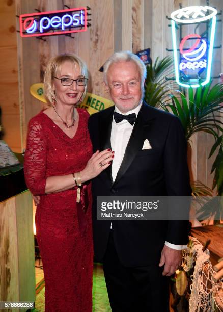 Wolfgang Kubicki and Annette MarberthKubicki attend the Bundespresseball at the Hotel Adlon on November 24 2017 in Berlin Germany