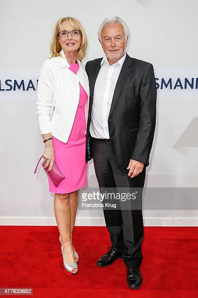 Wolfgang Kubicki and Annette MarberthKubicki attend the Bertelsmann Summer Party on June 18 2015 in Berlin Germany