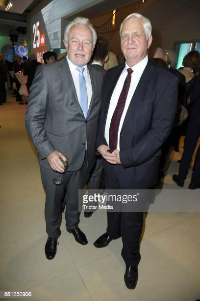 Wolfgang Kubicki and Heiner Bremer attend the 25 years anniversary ntv event at Bertelsmann Repraesentanz on November 28 2017 in Berlin Germany