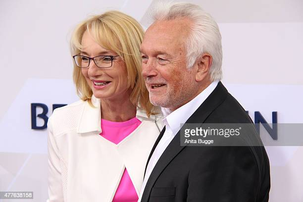 Wolfgang Kubicki and his wife Annette Marberth Kubicki attend the Bertelsmann Summer Party 2015 at the Bertelsmann representative office on June 18...