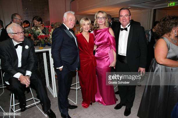 Wolfgang Kubicki and his wife Annette MarberthKubicki and Doris SchroederKoepf former wife of Gerhard Schroeder and her partner Boris Pistorius...