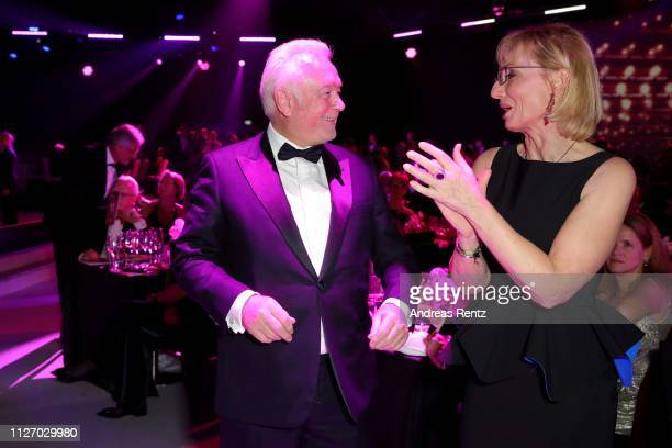 Wolfgang Kubicki and his wife Annette MarberthKubicki attend Ball des Sports 2019 Gala at RheinMain CongressCenter on February 02 2019 in Wiesbaden...
