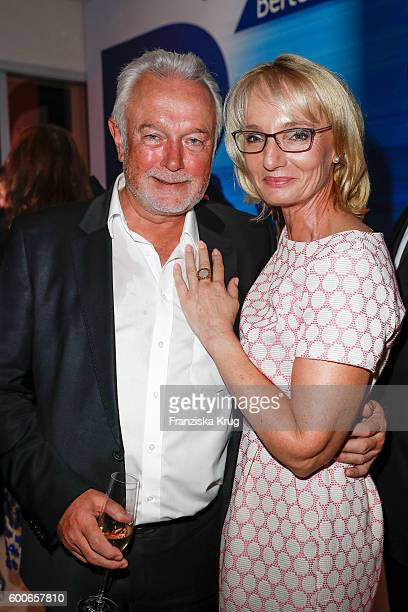 Wolfgang Kubicki and his wife Annette MarberthKubicki attend the Bertelsmann Summer Party at Bertelsmann Repraesentanz on September 8 2016 in Berlin...