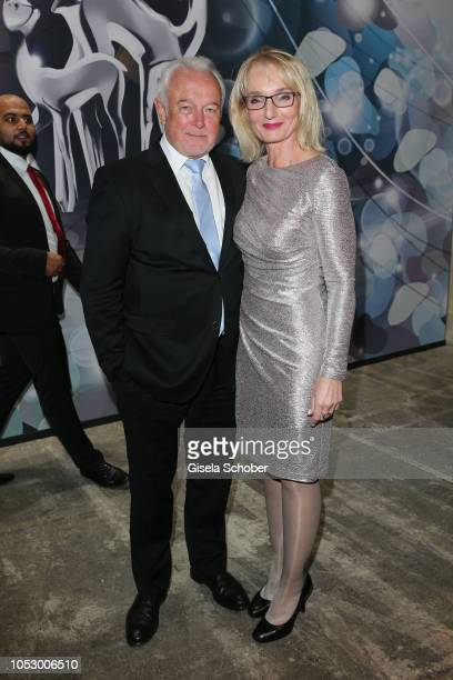 Wolfgang Kubicki and his wife Annette MarberthKubicki during the Tribute to Bambi 2018 charity gala benefit to Bambi hilft Kindern at Kraftwerk Mitte...