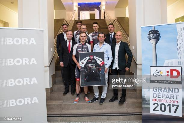 Wolfgang Lagler Marketing manager of Craft Sportswear Patrick Konrad Andreas Schillinger Emanuel Buchmann and Sven Teutenberg Sport Project Manager...