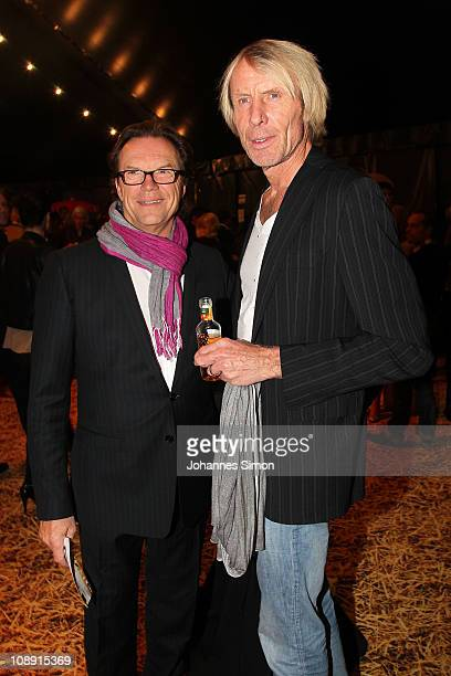 Wolfgang Lippert and Carlo Thraenhardt attend the 'Magnifico' Premiere on February 8 2011 in Munich Germany