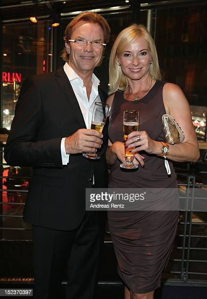 Wolfgang Lippert and Gesine Lippert attend the 'Goldene Henne' 2012 award after show party on September 19, 2012 in Berlin, Germany.