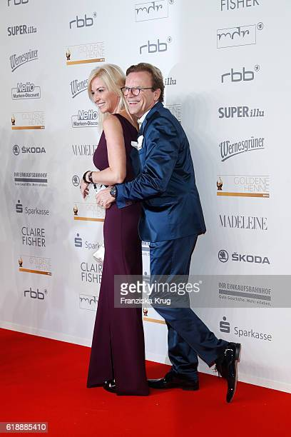 Wolfgang Lippert and Gesine Lippert attend the Goldene Henne on October 28 2016 in Leipzig Germany