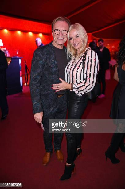 "Wolfgang Lippert and Gesine Lippert attend the ""Palazzo"" gala premiere at Palazzo-Spiegelpalast on November 13, 2019 in Berlin, Germany."