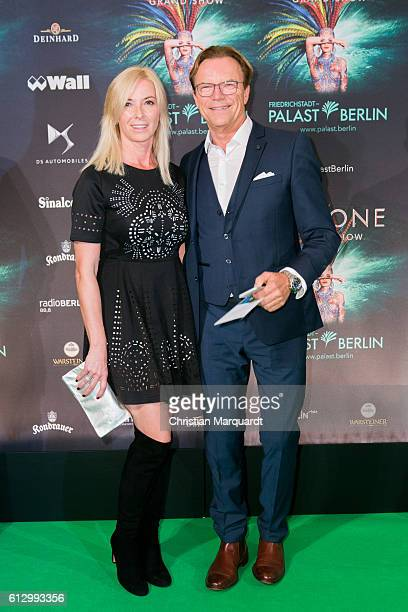 Wolfgang Lippert and Gesine Schoenherr attend the 'THE ONE Grand Show' World Premiere Dancers at FriedrichstadtPalast on October 6 2016 in Berlin...