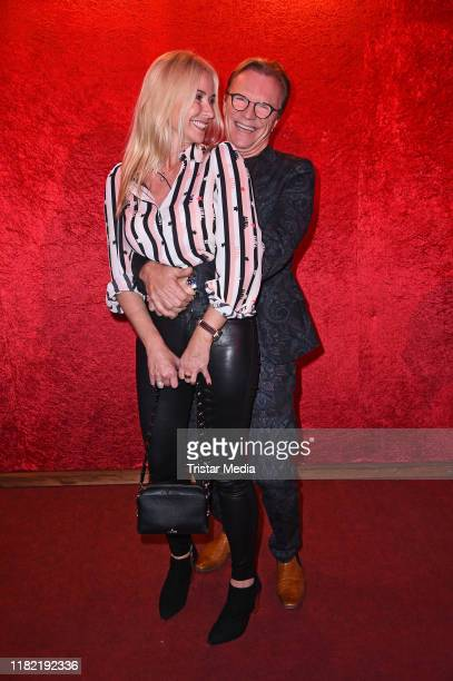 """Wolfgang Lippert and his wife Gesine Lippert attend the """"Palazzo"""" gala premiere at Palazzo-Spiegelpalast on November 13, 2019 in Berlin, Germany."""