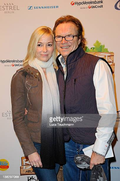 Wolfgang Lippert and wife Gesine attend the opening 'Bennets Abenteuer Beginnt' Musical Premiere at the at Estrel Convention Center on February 5,...