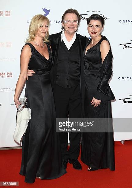 Wolfgang Lippert and wife Gesine Lippert and guest attend the Annual Cinema For Peace Gala during day five of the 60th Berlin International Film...