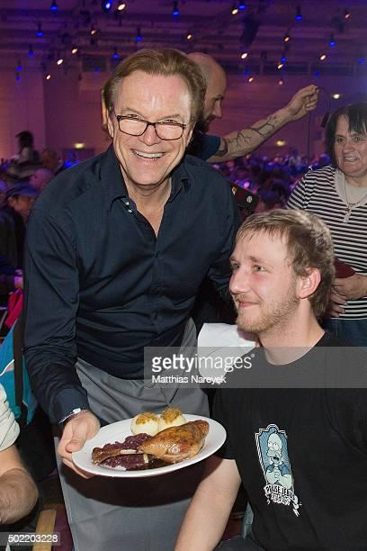 Wolfgang Lippert attends the Frank Zander charity dinner for homeless at the Estrel hotel on December 21, 2015 in Berlin, Germany.