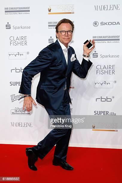 Wolfgang Lippert attends the Goldene Henne on October 28, 2016 in Leipzig, Germany.