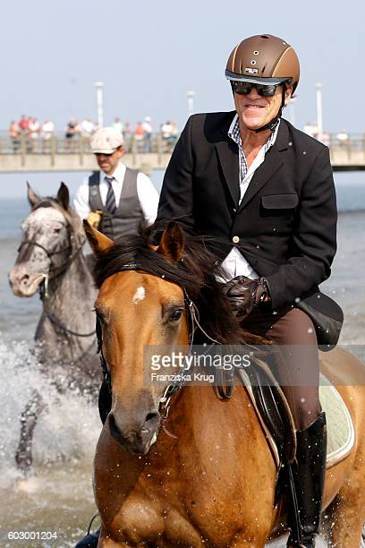 Wolfgang Lippert attends the Till Demtroders CharityEvent 'Usedom Cross Country' on September 11 2016 near Heringsdorf in Usedom Germany