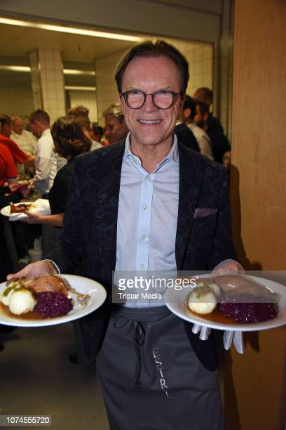 Wolfgang Lippert during the Frank Zander Christmas dinner for the homeless and people in need at Hotel Estrel Convention Center on December 21, 2018...
