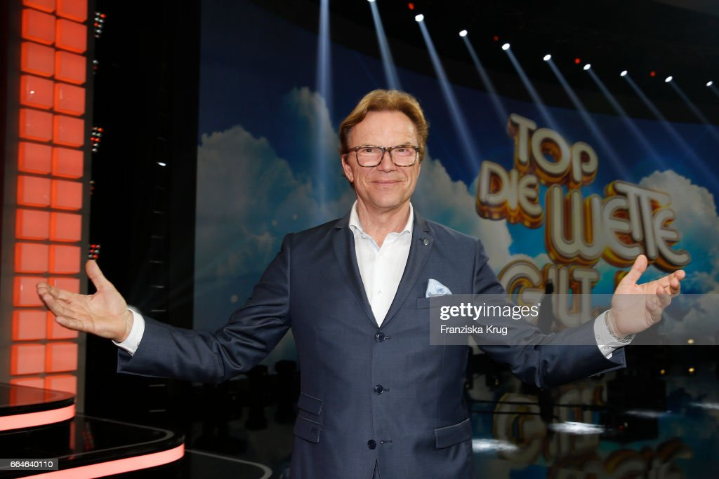 Wolfgang Lippert during the photo call for TV Show 'Top, die Wette gilt! 75 Jahre Frank Elstner' in Berlin at on April 4, 2017 in Berlin, Germany.