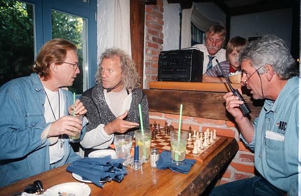 Wolfgang Lippert, Norbert Braun, Peter;Hick, (v.l.n.r.), Theater ...