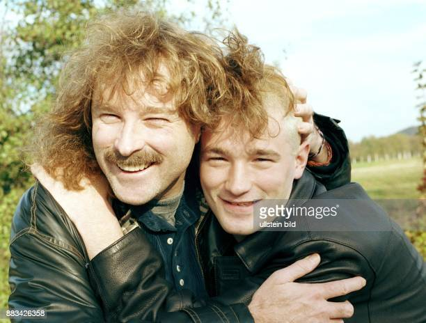 Wolfgang Petry Musiker Saenger Schlager D mit Sohn Achim