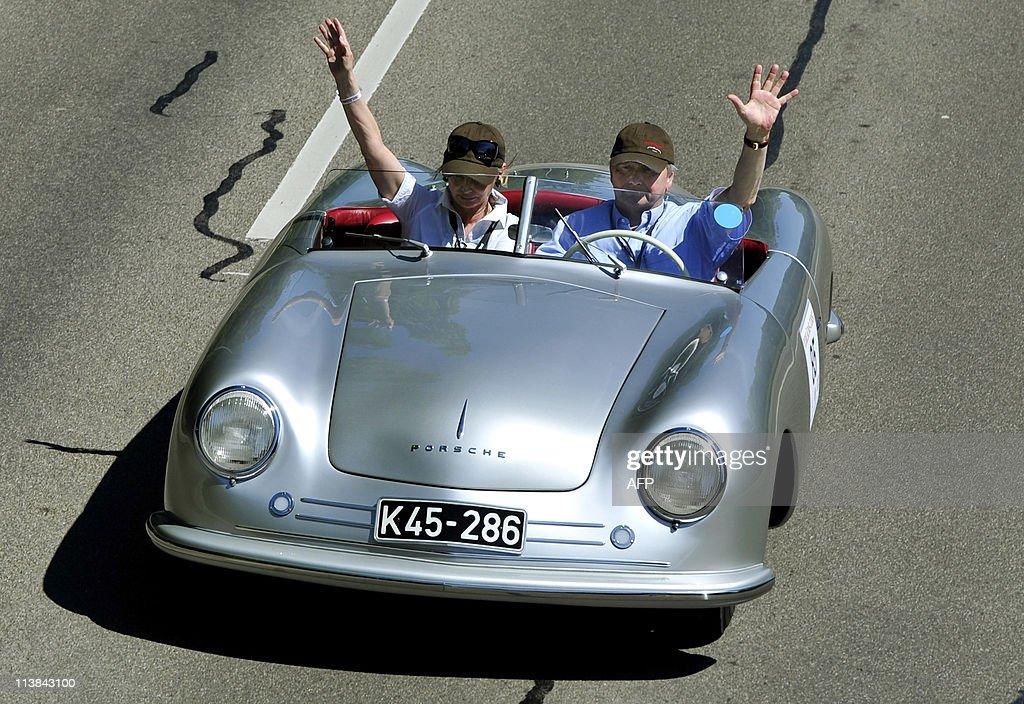 Wolfgang Porsche (R), grandson of Porsch Pictures | Getty Images