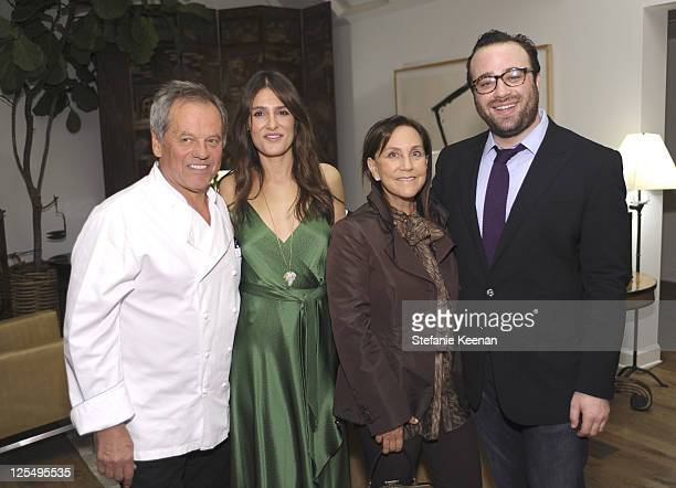Wolfgang Puck Alison Palevsky and Oliver Furth attendDecorative Arts And Design Council Event Honoring Rose Tarlow at LACMA on December 9 2010 in Los...