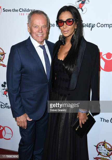 Wolfgang Puck and Gelila Assefa arrives at the Save the Children's Centennial Celebration Once In A Lifetime Presented By The Walt Disney Company at...
