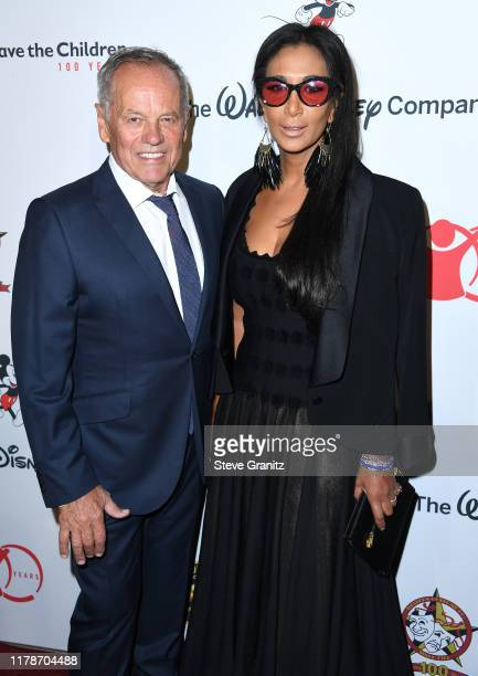 """Wolfgang Puck and Gelila Assefa arrives at the Save the Children's """"Centennial Celebration: Once In A Lifetime"""" Presented By The Walt Disney Company..."""