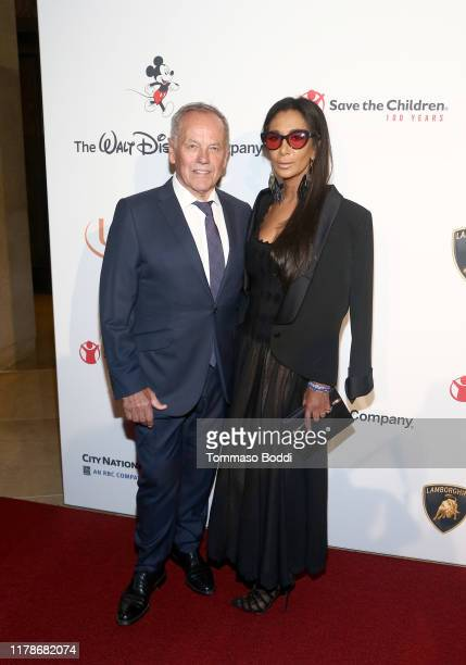 Wolfgang Puck and Gelila Assefa attend Save The Children's Centennial Celebration Once in a Lifetime at The Beverly Hilton Hotel on October 02 2019...