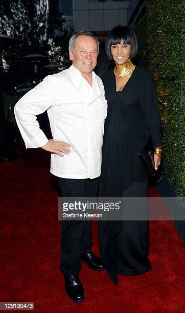 Wolfgang Puck and Gelila Puck attend the Opening Of Beauty Culture at Annenberg Space For Photography on May 19, 2011 in Century City, California.