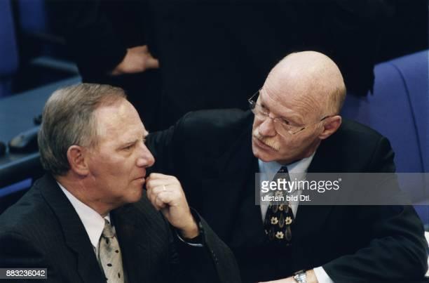 Wolfgang Schaeuble * Politiker CDU D Fraktionsvorsitzender der Fraktion im Deutschen Bundestag Bundesvorsitzender der CDU mit Peter Struck...