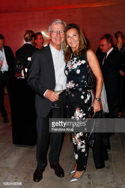 Wolfgang Schnell and his wife Annette Schnell attend the Dom Perignon 'The Legacy' on October 17 2018 in Munich Germany
