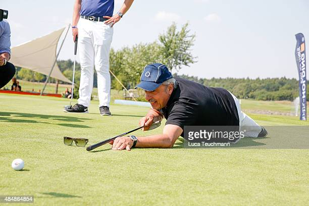 Wolfgang Stumph attends the 8th GRK Golf Charity Masters Leipzig on August 22, 2015 in Leipzig, Germany.