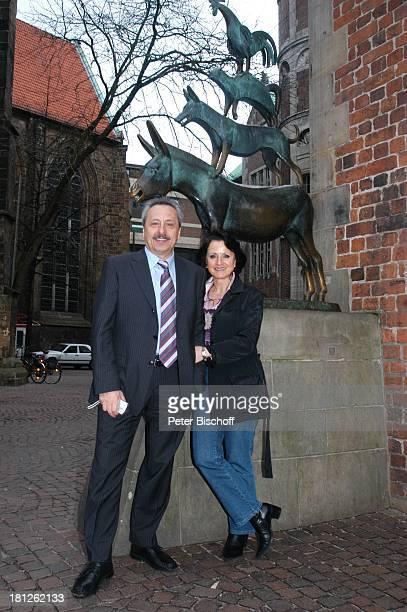 Wolfgang Stumph Ehefrau Christine 'Bremer Stadtmusikanten'