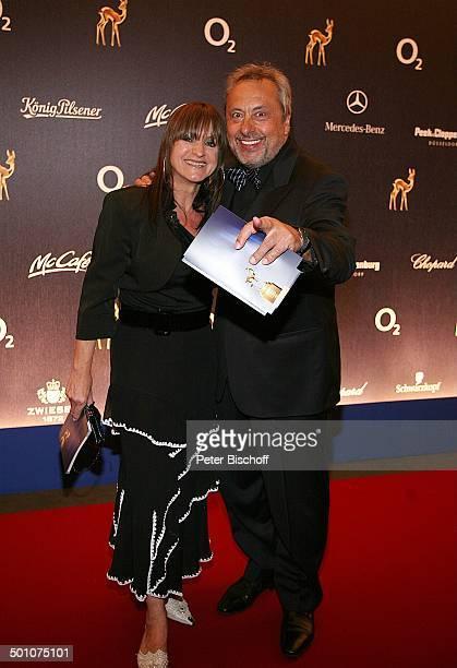 """Wolfgang Stumph, Ehefrau Christine, Gala, """"Bambi""""-Verleihung, """"Congress Center"""", Düsseldorf, Nordrhein-Westfalen, Deutschland, Europa, Werbepartner,..."""