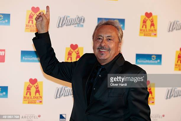 Wolfgang Stumph poses during the 'Helden des Alltags 2015' gala at Theater Kehrwieder on October 8, 2015 in Hamburg, Germany.