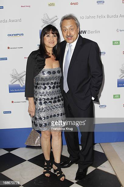 Wolfgang Stumph with wife Christine at the 10th Anniversary Of The Felix Burda Award at Hotel Adlon in Berlin