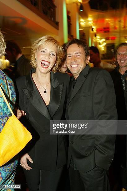 Wolfgang Und Janette Ziegler Bei Der Verleihung Der Goldenen Henne Im Berliner Friedrichstadt Palast